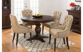 Table Dining Room Sets Standard Sizes Glass Chairs Counter Dimensions Seat Height Circle Round Small For