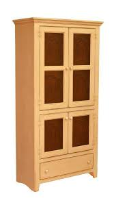 Geor own Pine Pantry Pie Safe Cabinet with Tin Doors
