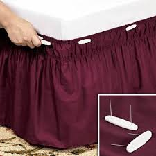 bed skirt pins home decor bedding freshfinds com