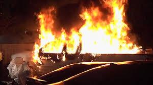 100 Truck Explosion Arson Investigators Look Into Truck Explosion Fire At Fairmount