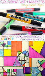 My Best Marker Tips For The Art Room Including Paper I Use And How To