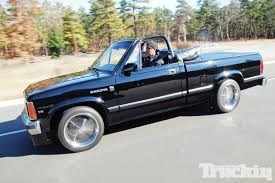 1989 Dodge Dakota SE Convertible - Going Topless - Truckin Magazine