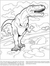 Good Dinosaur Coloring Book 26 On Sheets With
