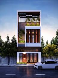 100 House Designs Modern Narrow 50 Narrow Lot S That