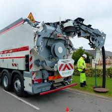 100 Sewer Truck Cleaner Truck Suction Water 3axle Europa RIVARD