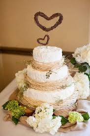 Rustic Chic Wedding Cakes