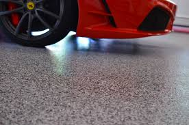 flooring painting garageoor concrete with stains