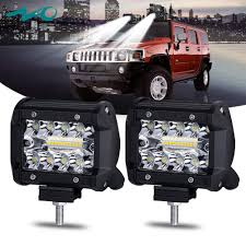 100 Work Lights For Trucks Amazoncom LED PodsNAO LED Light Bar Bulb Spot Flood