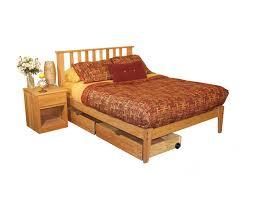 Oak Bedroom Set Queen Size 4 Pieces