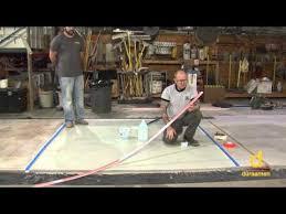 Liquid Floor Leveler Youtube by Tools For Concrete Floor Leveling Diy Liquid Floor Leveling