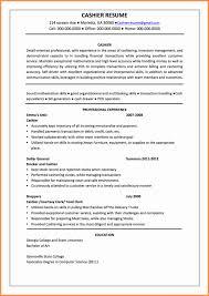 Resume Puter Skills Examples Unique Cashier Format Http Jobresumewebsite Sample For