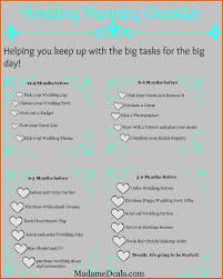 Best Images About Printable Real Simple Wedding Planning Checklist Lovable A