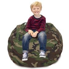 CALA Stuffed Animal Storage Bean Bag Chair- Extra Large 38