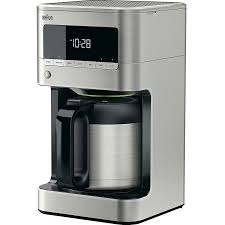 Braun BrewSense 10 Cup Drip Coffee Maker W Thermal Carafe KF7175S1