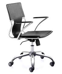 Acrylic Desk Chair With Arms by Bedroom Inspiring Zuo Modernzm Best Rolling Desk Chair Black