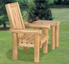 wood furniture outdoor