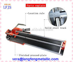 ceramic tile cutter with bearing titanium coated 22x6x6 tile