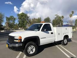 100 Utility Trucks For Sale In California 2004 GMC SIERRA 2500 HD North Hills CA 5006390548