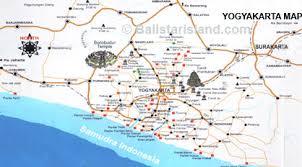 Yogyakarta Map Java Island