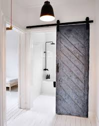 Eccentric Modern Barn Doors Providing Unique Interior Access ... Supra Sliding Door Hdware Bndoorhdwarecom Bring Some Country Spirit To Your Home With Interior Barn Doors Diy Modern Builds Ep 43 Youtube Design Designs Fresh Handles Closet The Depot Brentwood Architectural Accents For The Door Front Authentic Heavy Duty Track Boston Modern Barn Doors Bathroom With Kitchen And Bath Fixture Untainmodernlifecom