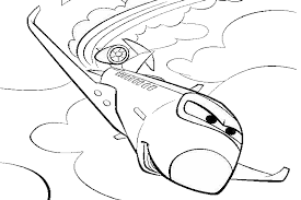Color Coloring Pages Lightning Mcqueen