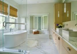 View In Gallery Modern Bathroom With Large Floor Tiles