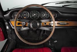 Early Porsche 911 interior