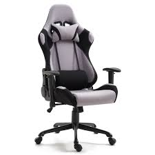 US $196.16 7% OFF|Samincom High Back Gaming Chair (Black And Gray) With  Extra Soft Headrest And Lumbar Support Office Swivel Lift Chair-in Office  ... Xtrempro G1 22052 Highback Gaming Chair Blackred Details About Ergonomic Racing Gaming Chair High Back Swivel Leather Footrest Office Desk Seat Design Computer Axe Series Blackred Check Out Techni Sport Racer Style Video Purple Shopyourway Topsky Pu Executive Merax 217lx 217w X524h Blue Amazoncom Mooseng New Lumbar Support And Headrest Akracing Masters Premium Highback Carbon Black Energy Pro
