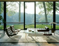 one chair 12 homes mies der rohe s barcelona chair