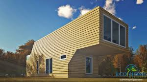 100 Cantilever Home SCH12 4 X 40ft Double Storey Video