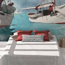 maritime kunst tapete fischer boote key west nach winslow homer