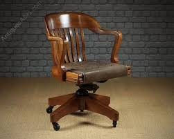 Wh Gunlocke Chair Co by Antiques Atlas Large Walnut Desk Chair By W H Gunlocke Chair Co