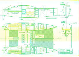 Free Small Wooden Boat Plans by Catamaran Plan Plywood Boat Design Tekne Pinterest Plywood