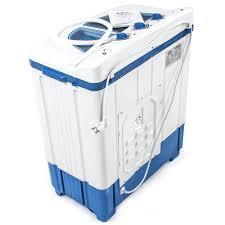 mini machine à laver jusqu à 4 5 kg lave linge compact en blanc