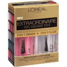 Nailene Uv Gel Lamp Walmart by L U0027oreal Paris Extraordinaire Gel Lacque 1 2 3 2 Pc Walmart Com