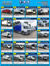 Best Used Truck Sales, CRS Trucks, Quality Trucks Sensible Price ... Used Commercials Sell Used Trucks Vans For Sale Commercial 2013 Isuzu Npr Ndscapelawn Truck 14ft Vanscaper Body And 4ft Garbage Trucks Bodies For The Refuse Industry Service Tool Storage Ming Utility Unused Jc Payne Uk Ltd Steel Flatbed Sale Best Resource Archives Johnie Gregory Norstar Sd Bed Unicell 16 Ft Dry Freight Truck Van Box Toronto Dump Body By Arthur Trovei Sons Dealer Used Truck Bodies For Sale