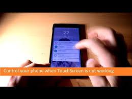 Unlock &ShutDown Your Phone When TouchScreen Not Working