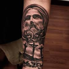 Perfect Jesus Christ Tattoo Designs 30 In Hand With
