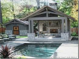Decorative Pool Guest House Designs by Fashioned Way To Get The Best Pool House Designs With Simple