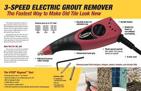 Regrout Old Tile Floor hyde regrout tool 19500 fast grout removal hyde tools