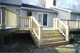 Exterior Craftsman Front Porch Steps Cool Front Porch Using Azek