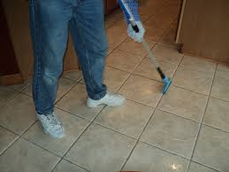 Grouting Floor Tiles Tips by Tile Cleaning Ceramic Tile And Grout Floors On A Budget Gallery