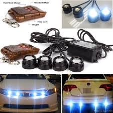 4in1 White 12V LED Day Light Car Emergency Strobe Lights DRL ... 10watt Daytime Running Lights Xkglow 3 Mode Ultra Bright 14pcs Led Led Brake Stop Light Flasher Strobe Controller 12v24v Atv 4 Amber High Power Custer Products Led Auto Down Lights Rgb Flash Under Glow Lamp 7 Colors Pattern Car Ediors 6 Hid Bulbs 120w Hideaway Emergency Hazard Warning Ford To Offer Factoryinstalled On F150 2008 Leds All Around Youtube Trucklite 92844 Black Flange Mount Remote White Can Civilians Use In Private Vehicles Installing Wolo Hideaway Kit 12v Auto Mfg Corp Vehicle Warning Lights Power Supplies Strobe