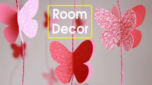 Diy Butterflies Wall Room Decor