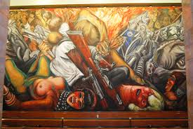 David Alfaro Siqueiros Murales by Catharsis 1934 Jose Clemente Orozco Wikiart Org