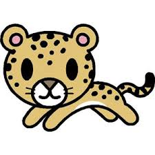 Baby Leopard Cliparts Free Download Clip Art