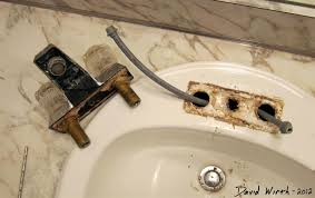 Fixing A Leaking Faucet by The Do It Yourselfer U0027s Guide To Installing A Bathroom Sink