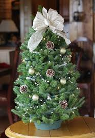 table top christmas tree sequoia floral