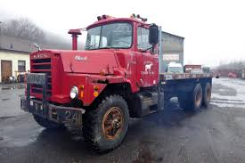 100 Used Truck Mounts For Sale 1971 Mack DM607S Tandem Axle Flatbed For Sale By Arthur Trovei