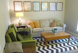 16 Green And Blue Living Room Orange